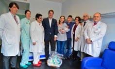 Pelayo, el bebé 9.000 que nace en el Hospital de Torrejón