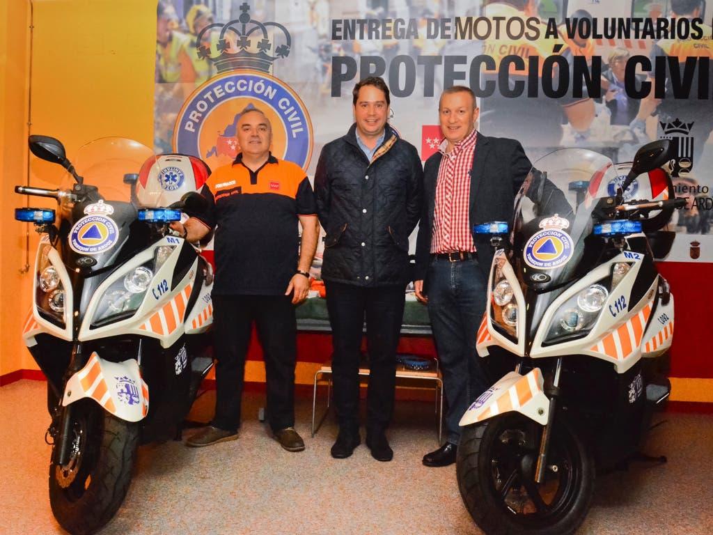 Protección Civil Torrejón estrena motos