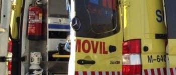 Un trabajador herido muy grave tras precipitarse desde 6 metros de altura en Torrejón