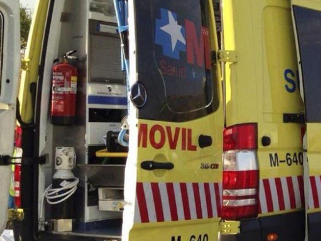 Herido muy grave un trabajador atropellado por un camión en una empresa de Aranjuez