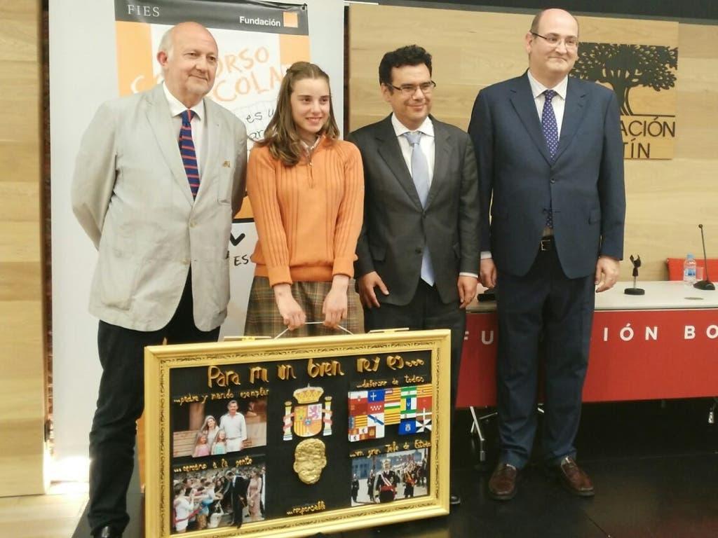 Una alumna de Alcalá podrá conocer al Rey en persona