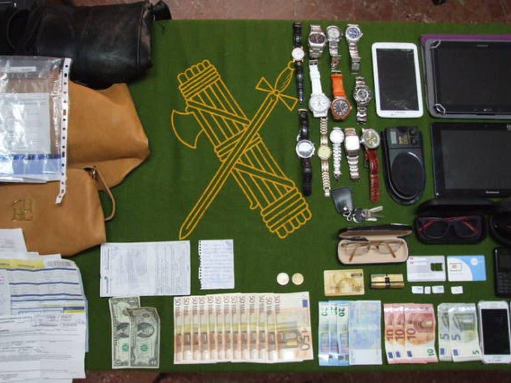 Cae una banda de ladrones de viviendas con sede operativa en Coslada
