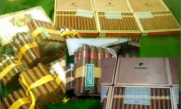 Incautan en Algete 5.000 euros en puros habanos de contrabando