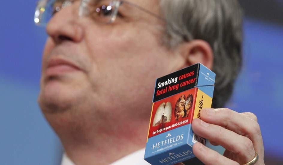 A partir del viernes nuevos mensajes en las cajetillas de tabaco y desaparece el tabaco con sabores