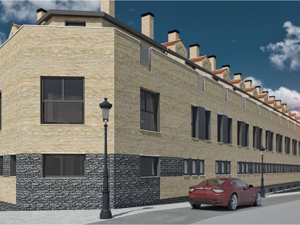 Así será la nueva promoción de viviendas de obra nueva en Ajalvir