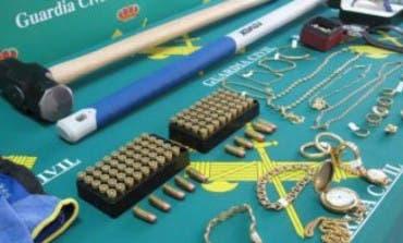 Desarticulada una red que cometió 73 robos en viviendas en El Casar, Villalbilla, Torrejón del Rey...