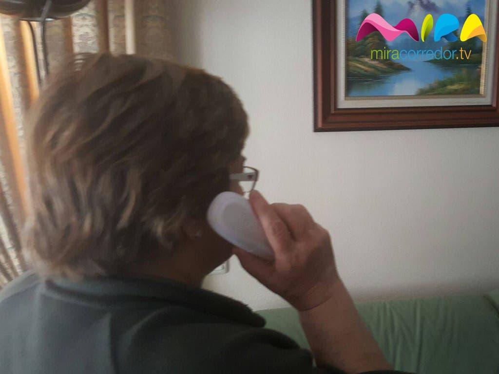 Nieves fue víctima de un secuestro virtual en Torrejón de Ardoz