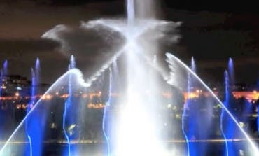 Vuelve la Fuente Cibernética al Parque Europa de Torrejón