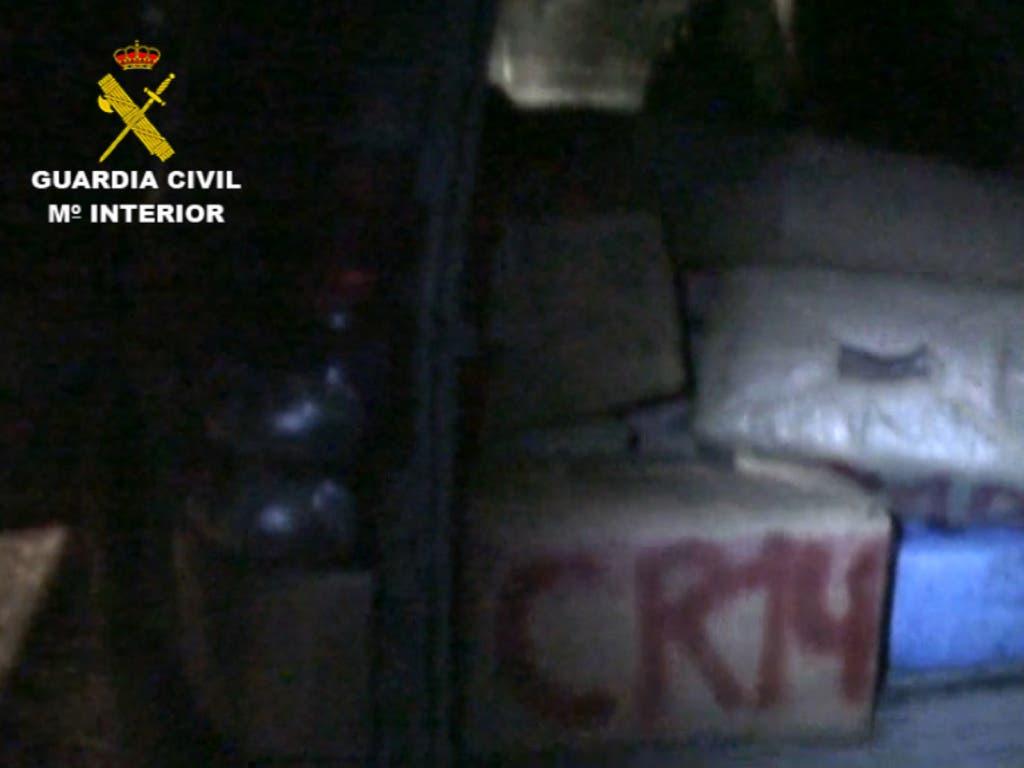 17 detenidos con dos toneladas de hachís en una operación iniciada en la A2 y en Azuqueca