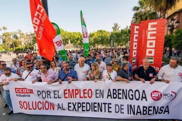 Los trabajadores de Inabensa en Alcalá se manifestarán esta semana contra los despidos