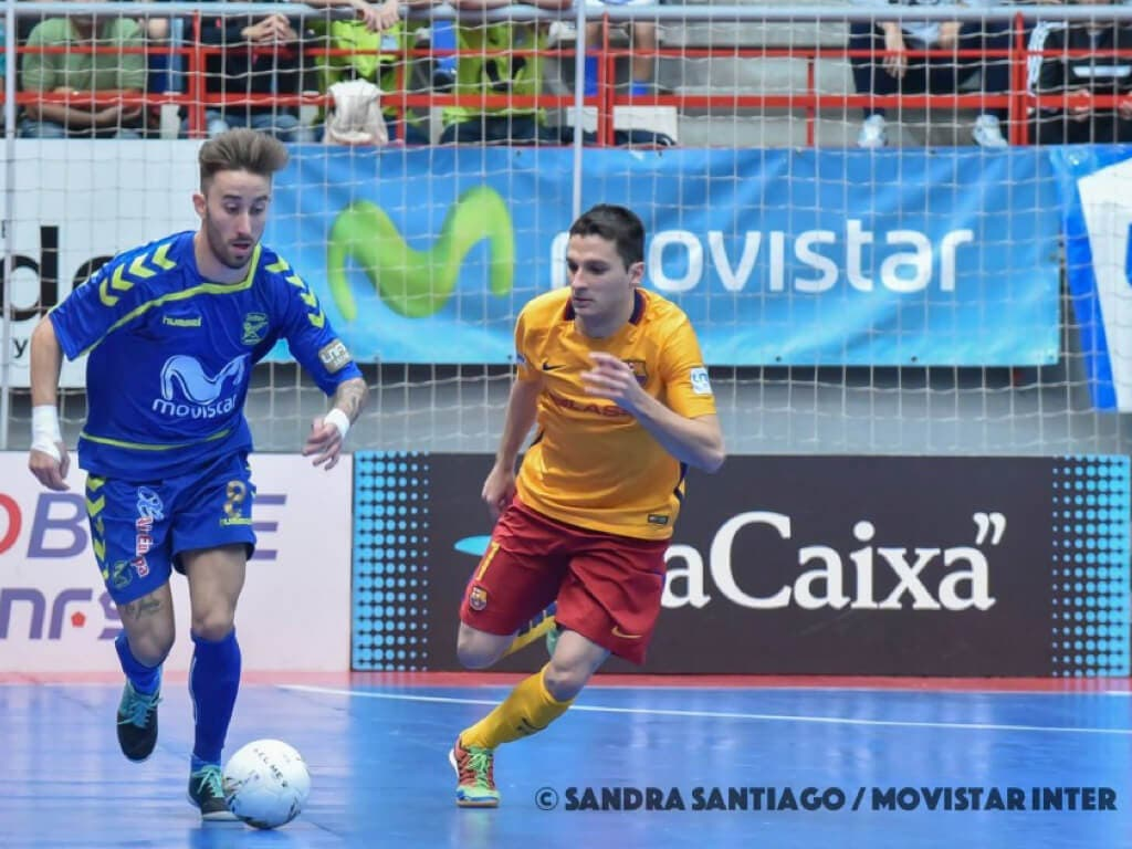 Comienza en Torrejón la gran Final de la Liga de Fútbol Sala entre el Inter y el Barça