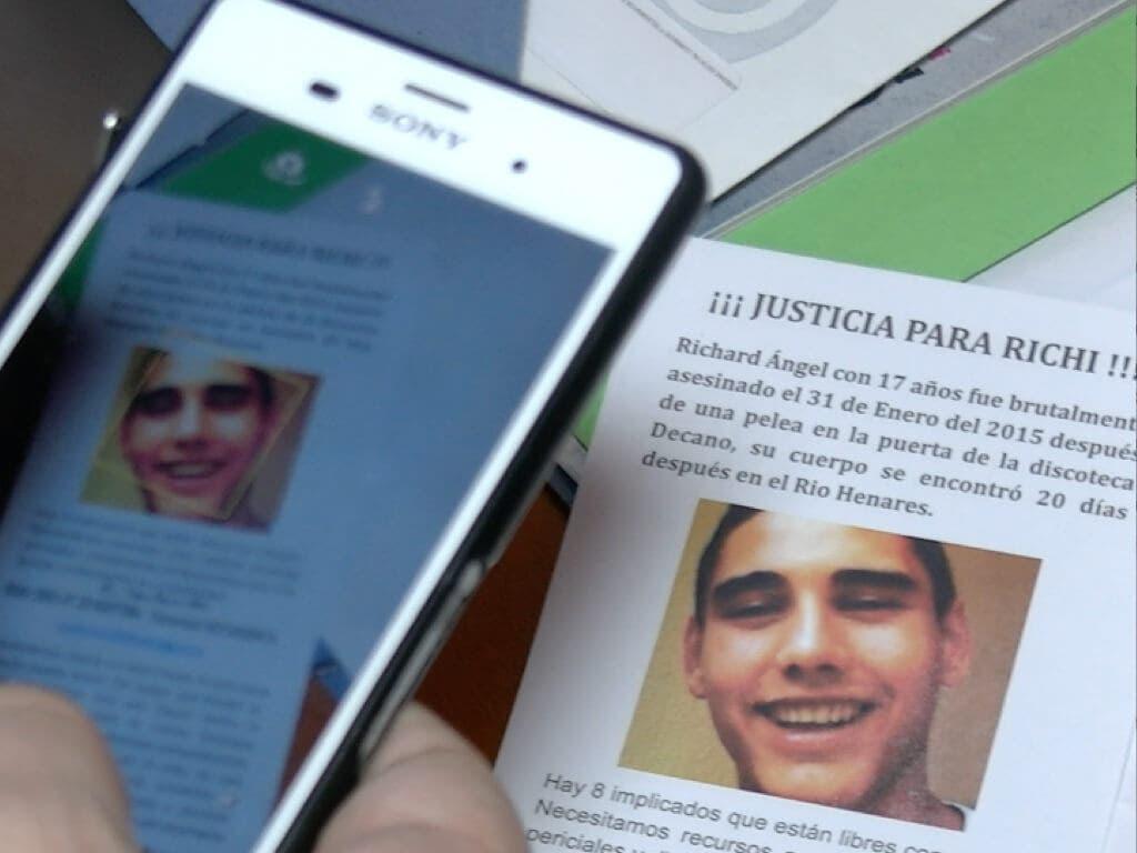 La familia de Richi recurre el archivo del caso por la juez de Alcalá de Henares