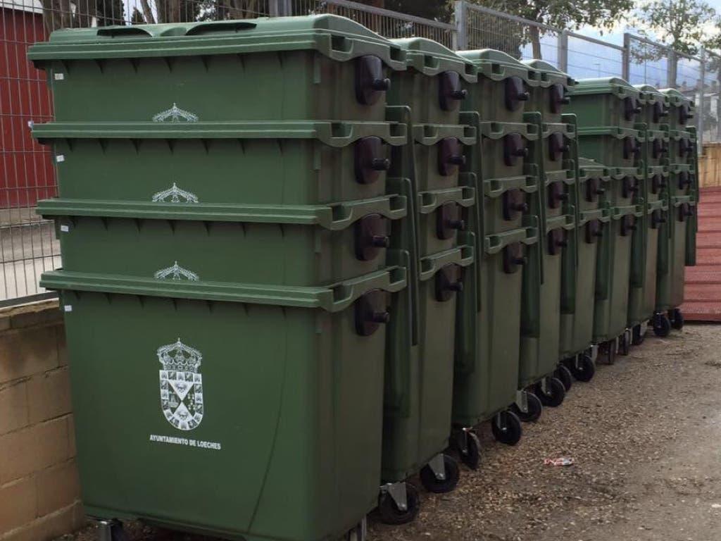 Loeches renueva sus contenedores de residuos urbanos