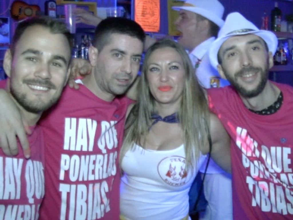 Una noche de fiesta con las Peñas en las Fiestas de Torrejón