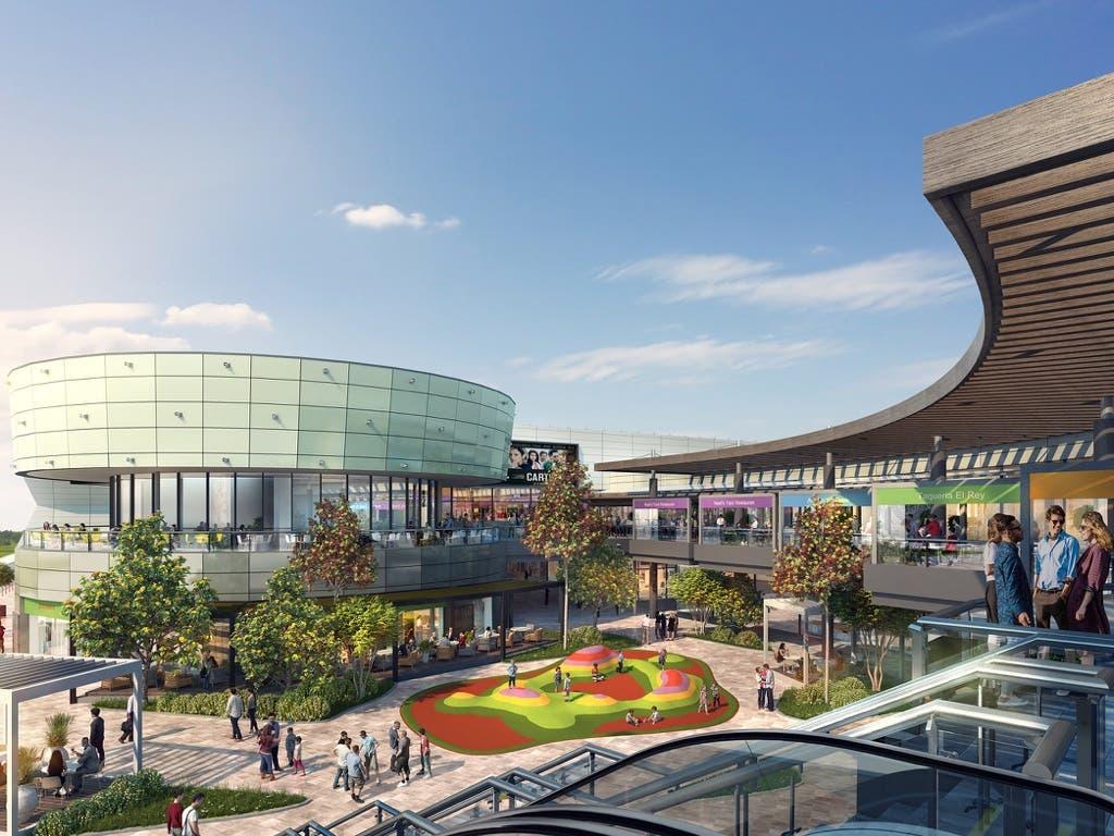 Este es el nuevo aspecto que tendrá el Centro Comercial