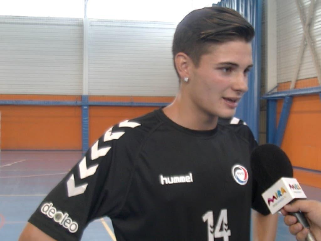 Daniel Fernández, el torrejonero que acaba de fichar por el Barça con tan solo 15 años
