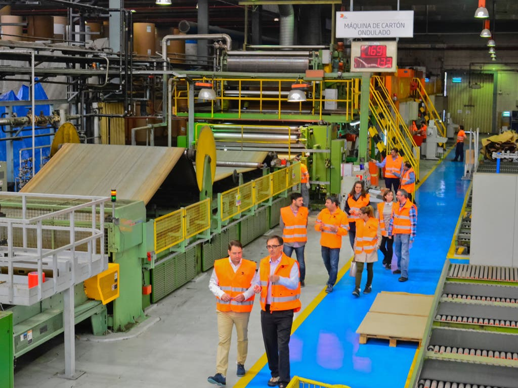 El gigante del cartón, DS Smith, amplía sus instalaciones en Torrejón