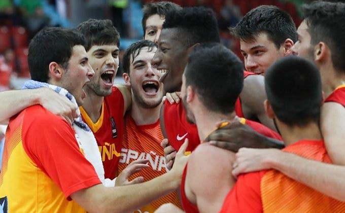 Torrejón y Azuqueca celebran el triunfo de España en el Europeo de baloncesto Sub-20
