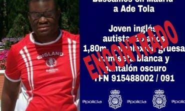 Encontrado el joven desaparecido en San Fernando de Henares