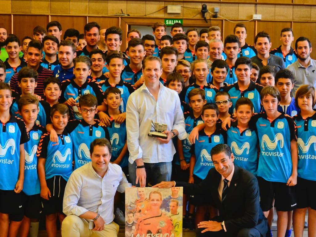 Torrejón y el Inter Movistar despiden y homenajean a Luis Amado
