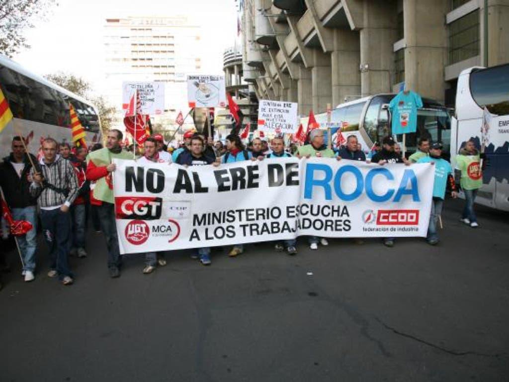 Roca presenta un ERTE para la planta de Alcalá de Henares