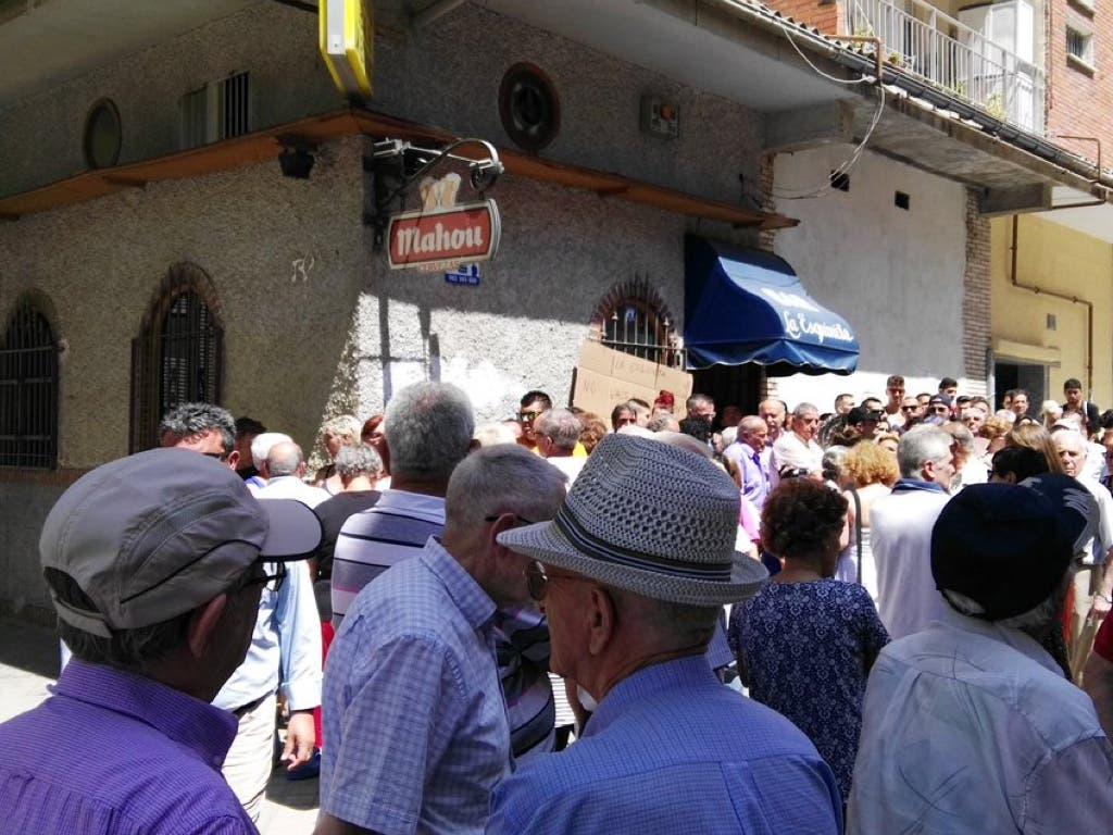 Suspendido el desahucio de un bar de El Pozo de Vallecas