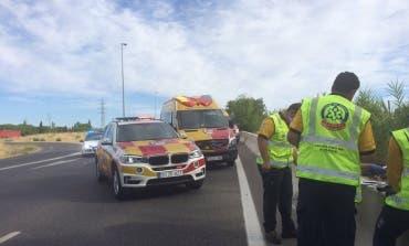 Muere un hombre en un accidente de moto en la M-607