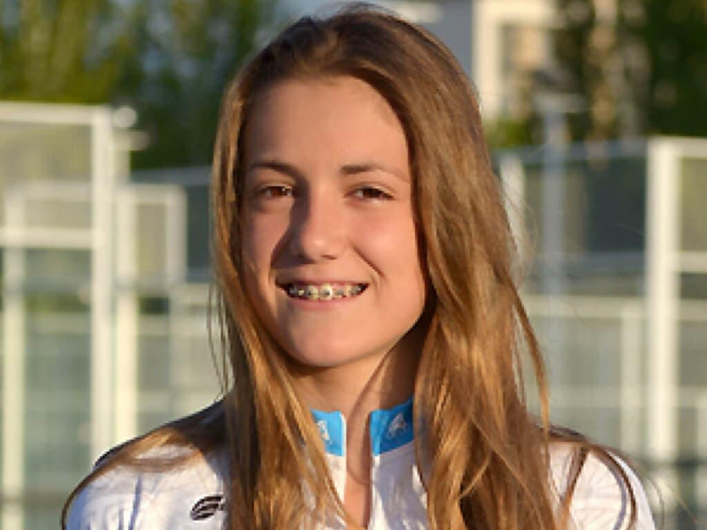 La patinadora de Arganda, Ana Humanes, medalla de bronce en el Campeonato de Europa