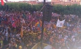Robos, un herido y varias reyertas en la primera noche de las Ferias de Alcalá