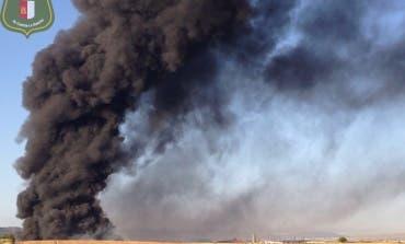 La planta incendiada en Chiloeches estaba cerrada por no cumplir la normativa