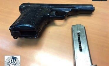 Detenido en Madrid por mostrar un arma de fuego en una terraza