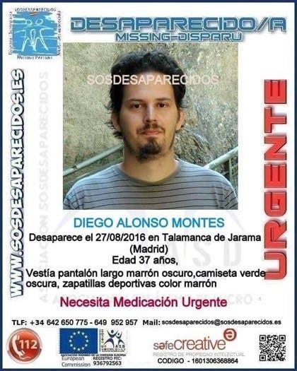 Aparece muerto el joven desaparecido en Talamanca de Jarama