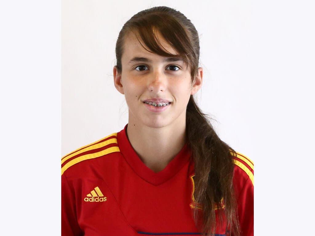 La alcalaína Laura Domínguez, subcampeona de Europa de Fútbol sub-19