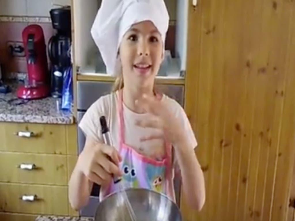 Una niña de Guadalajara, con su propio canal de recetas en YouTube, aspirante a MasterChef