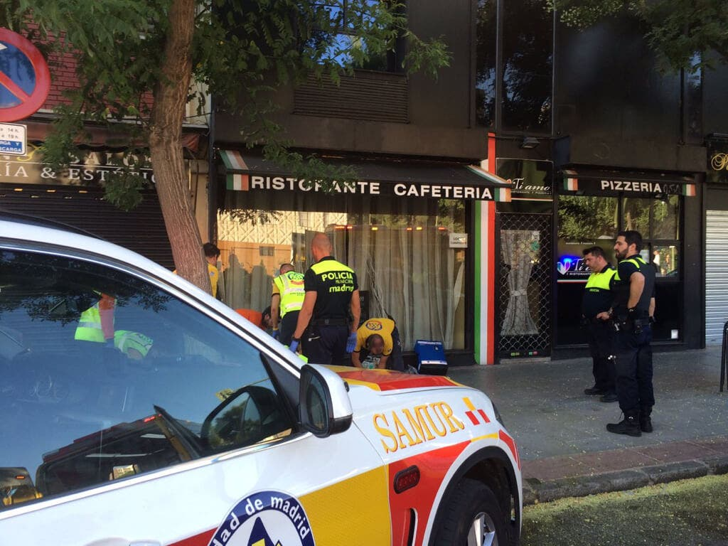 Una reyerta en un bar de Madrid deja un herido grave y un detenido
