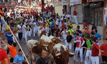 Primer herido por asta de toro en los encierros de San Sebastián de los Reyes