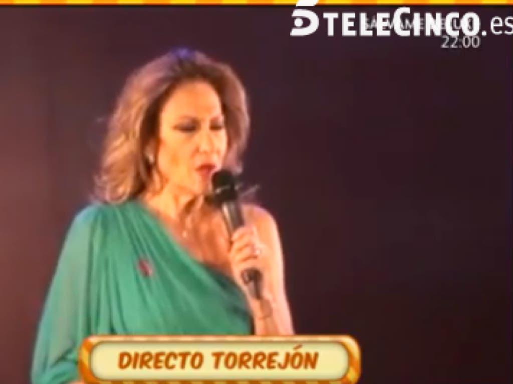 Rosa Benito, ingresada en el Hospital de Torrejón