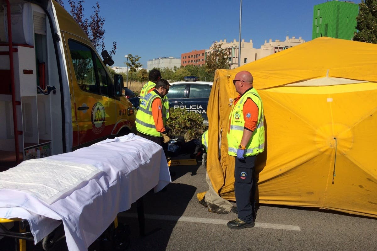 Atropello muy grave en Vallecas