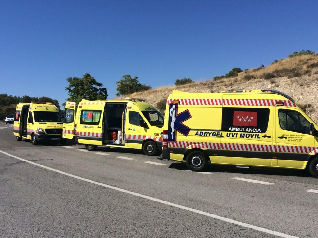 Fallece un hombre de 66 años en un accidente de moto en Campo Real