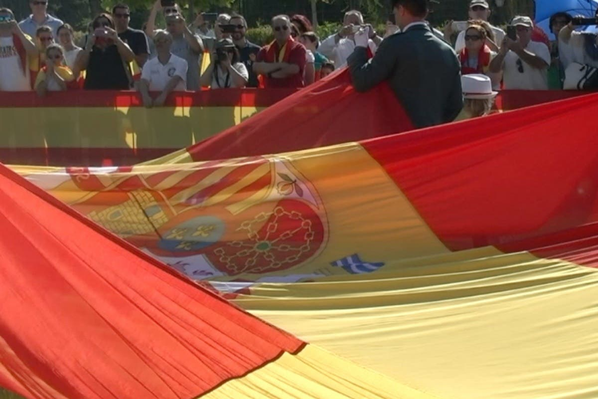 Meco celebró por primera vez un Homenaje a la Bandera en sus Fiestas