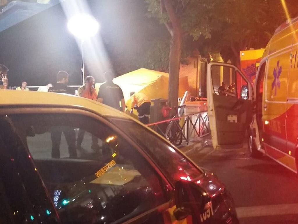 Un hombre mata a una mujer y hiere a su acompañante en Madrid