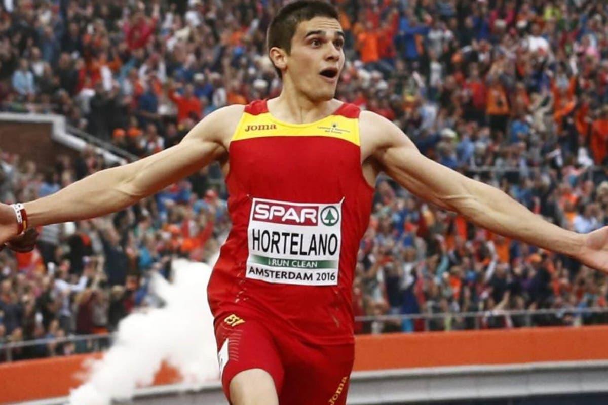 El joven accidentado en la A-6 es el atleta Bruno Hortelano