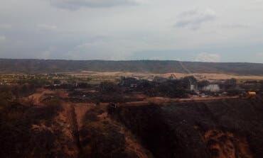 Extinguido el incendio de Chiloeches