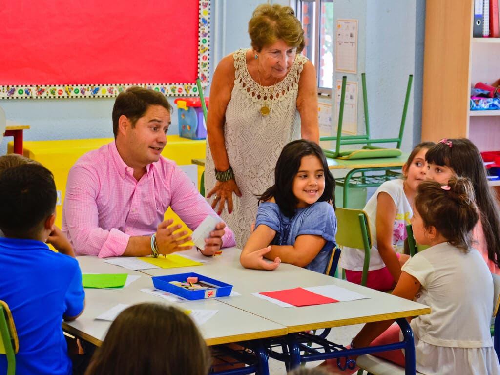 Torrejón inicia el curso escolar con 26.372 alumnos matriculados y 16 centros bilingües