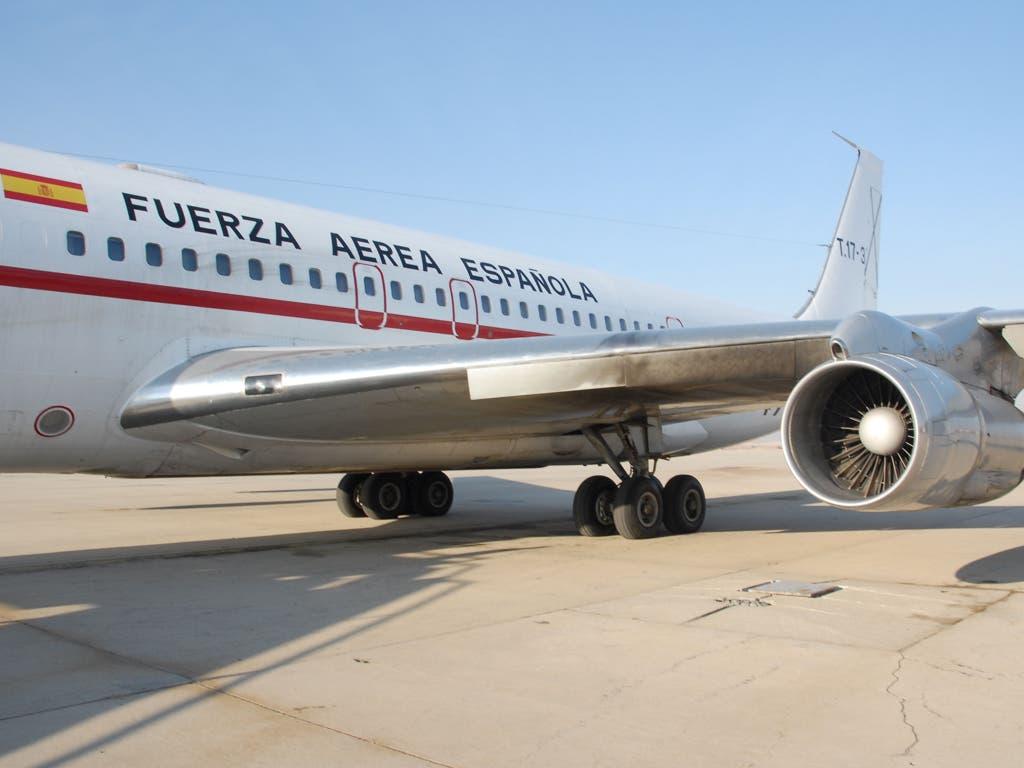 El Ejército jubila este martes en Torrejón su último Boeing 707