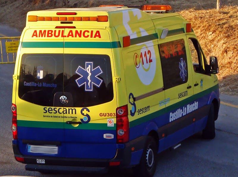 Fallece una mujer de 34 años en un accidente de moto en Guadalajara