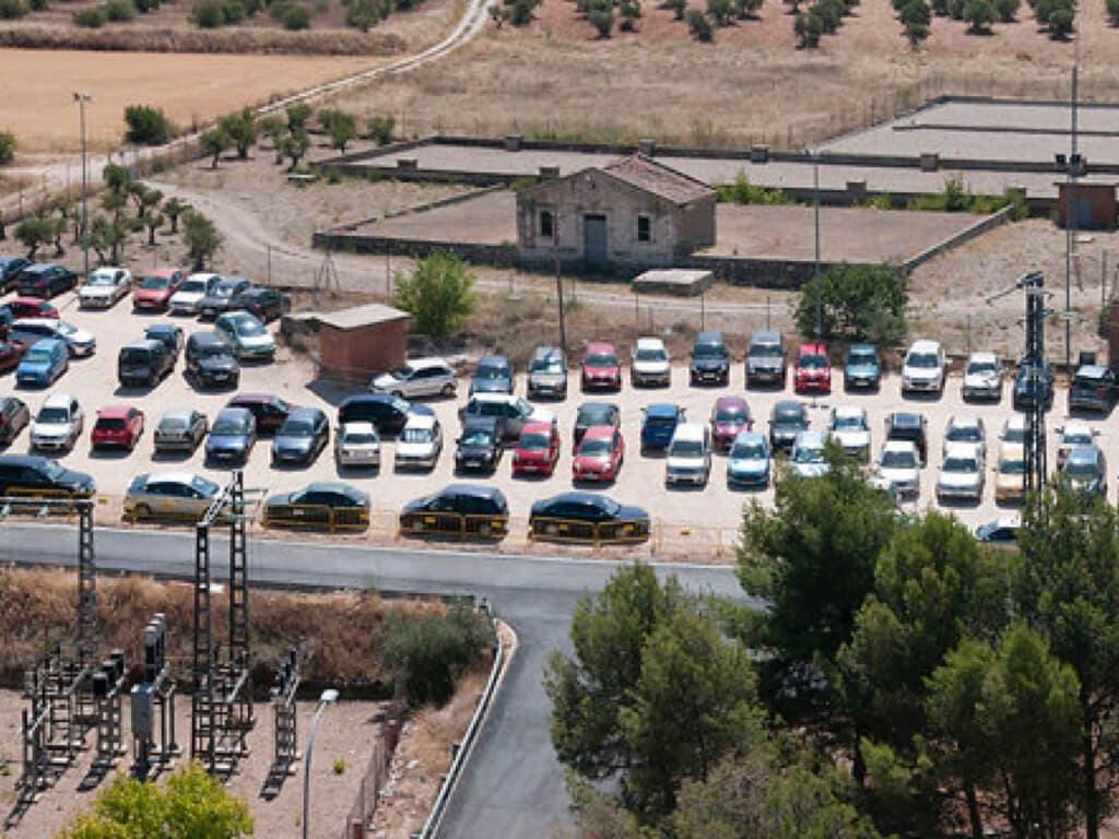 Piden un parking gratuito para el Hospital de Guadalajara