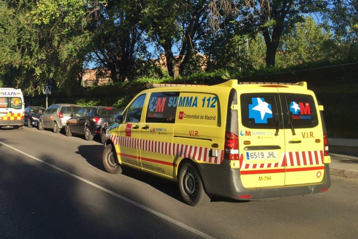 Un microbús escolar atropella a un niño de 11 años en Madrid