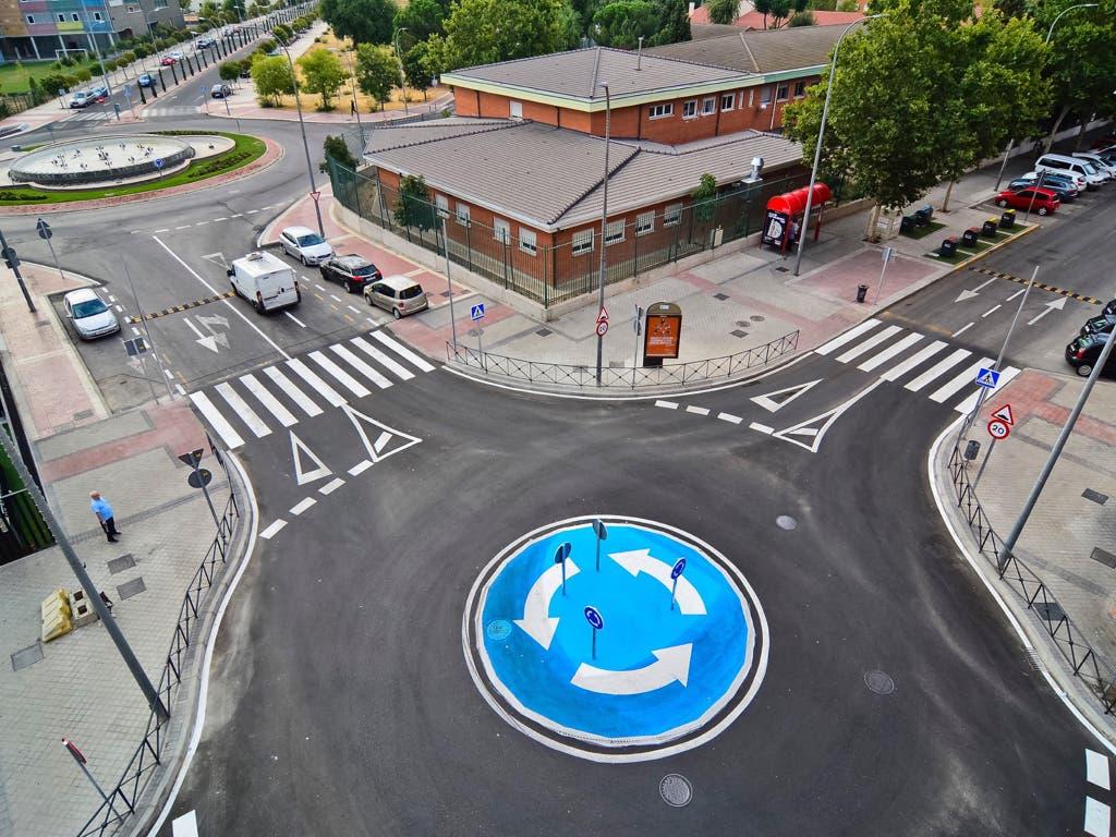 Torrejón estrena cinco nuevas rotondas