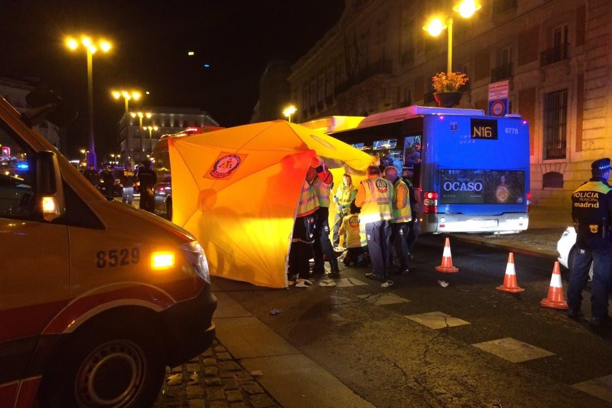 Dos atropellos esta madrugada en Madrid, uno de ellos mortal